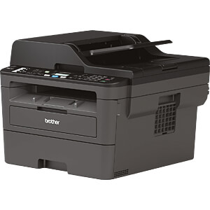 Drucker, Laser, 4 in 1, mono, LAN/WLAN, 30 S/min, Duplex, inkl. BROTHER MFCL2710DWG1