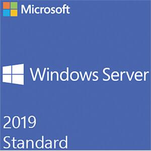Software, Windows Server 2019 Standard, 24 Kerne (SB) MICROSOFT P73-07809