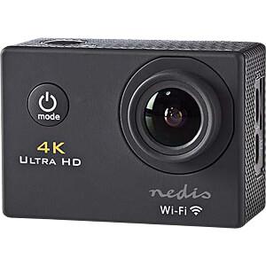 Action-Kamera, Ultra HD 4K, WLAN, wasserdichte Tasche NEDIS ACAM40BK