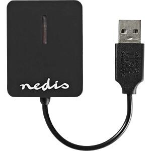 Card Reader, extern, USB 2.0, All-in-1 NEDIS CRDRU2300BK