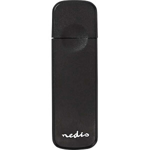 Card Reader, extern, USB 3.0, Multicard NEDIS CRDRU3100BK