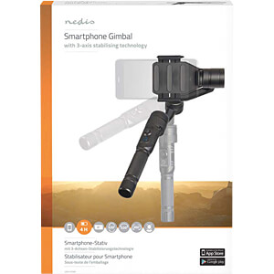 Gimbal, 3-Achsen-Stabilisierung, Bildschirme bis zu 6 NEDIS GBAL100BK