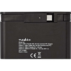 Port Replicator, USB Typ C NEDIS TCARF260BK