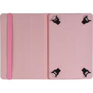 Folio Case für Tablets, 10, Universal, Pink NEDIS TCVR10100PK