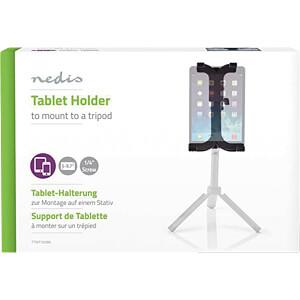 Tablet-Halterung, 12,5 - 24 cm, für Stativ mit 1/4-Schraube NEDIS TTMT100BK