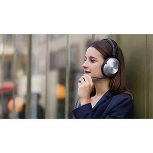 Hi-Res-Audio-Kopfhörer, Over-Ear, silber PIONEER SE-MS5T-S