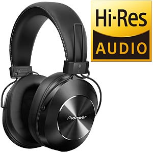 Hi-Res-Audio-Kopfhörer, Over-Ear, Bluetooth, schwarz PIONEER SE-MS7BT-K