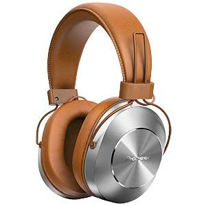 Hi-Res-Audio-Kopfhörer, Over-Ear, Bluetooth, braun PIONEER SE-MS7BT-T