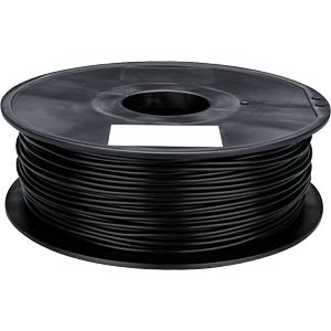 PLA filament — black — 1.75 mm — 1 kg VELLEMAN PLA175B1