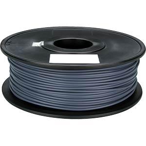 PLA filament — grey — 1.75 mm — 1 kg VELLEMAN PLA175H1