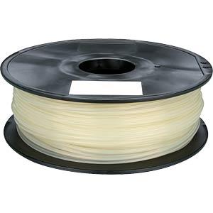 PLA filament — natural — 1.75 mm — 1 kg VELLEMAN PLA175N1