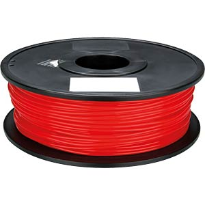 PLA filament — red — 1.75 mm — 1 kg VELLEMAN PLA175R1