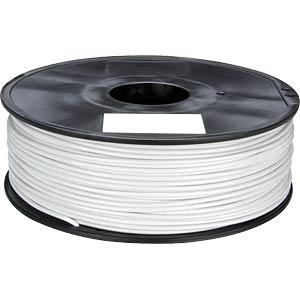 PLA filament — white — 1.75 mm — 1 kg VELLEMAN PLA175W1