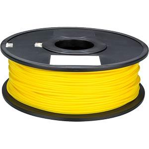 PLA filament — yellow — 1.75 mm — 1 kg VELLEMAN PLA175Y1