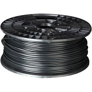 PLA filament — black — 3 mm — 1 kg VELLEMAN PLA3B1
