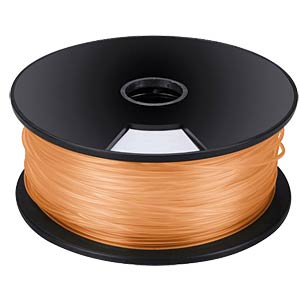 PLA filament — orange — 3 mm — 1 kg VELLEMAN PLA3O1