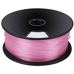PLA filament — pink — 3 mm — 1 kg VELLEMAN PLA3P1