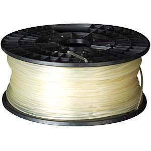 PLA filament — white — 3 mm — 1 kg VELLEMAN PLA3W1