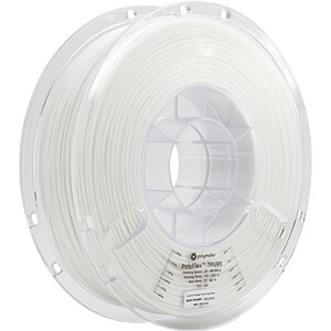POLYMAKER 70106 - Filament - PolyFlex TPU95 - White - 750 g