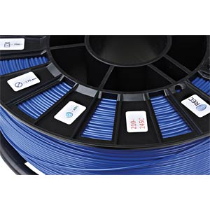 ABS Filament - blau - 1,75 mm - 750 g REC