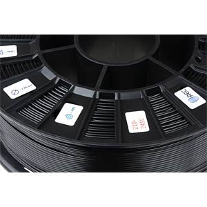 ABS Filament - black - 1,75 mm - 750 g REC