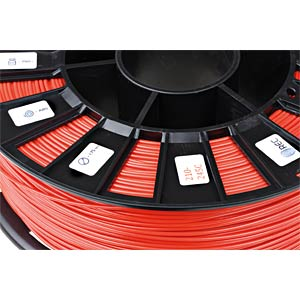 ABS Filament - vermilion - 1,75 mm - 750 g REC
