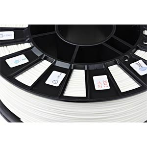 ABS Filament - white - 1,75 mm - 750 g REC