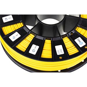 ABS Filament - yellow - 2,85 mm - 750 g REC