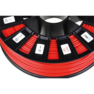 ABS Filament - zinnoberrot - 2,85 mm - 750 g REC