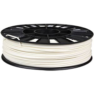 ABS Filament - white - 2,85 mm - 750 g REC
