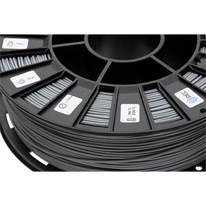 PLA Filament - gray - 1,75 mm - 750 g REC