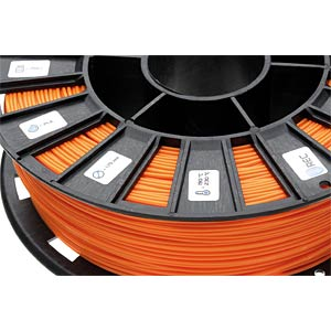 PLA Filament - orange - 1,75 mm - 750 g REC