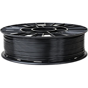 PLA Filament - black - 1,75 mm - 750 g REC