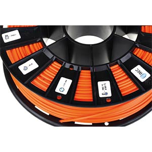 PLA Filament - orange - 2,85 mm - 750 g REC