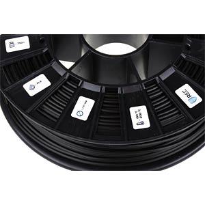 PLA Filament - schwarz - 2,85 mm - 750 g REC