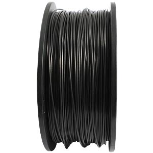 1,75 mm PLA Filament - black - 1 kg SYNERGY 21 S21-3D-000079