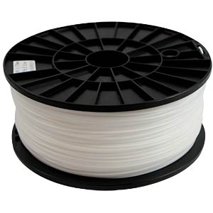 ABS Filament - weiß - 1,75 mm - 1 kg SYNERGY 21 S21-3D-000030