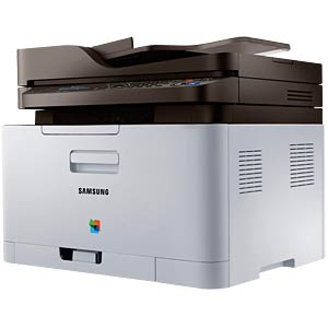 4-in-1 multifunction color laser printer with LAN SAMSUNG SL-C480FN/TEG