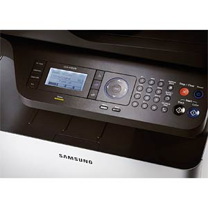 4-in-1 multifunction laser printer, colour, with LAN SAMSUNG CLX-4195FN/TEG