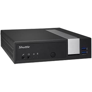 Fanless 1-litre PC with Intel Cleeron CPU SHUTTLE DX30