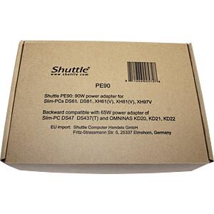 Netzteil, 90 W, für Shuttle Barebones SHUTTLE PE90