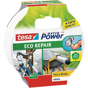 Gewebeband tesa extra Power® Eco Repair, 10 m x 38 mm, weiß TESA 56431-00001-00