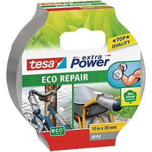 Gewebeband tesa extra Power® Eco Repair, 10 m x 38 mm, grau TESA 56431-00002-00