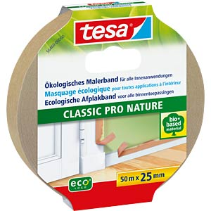 Eco Premium masking tape, 50 m: 25 mm TESA 56460-00000-00