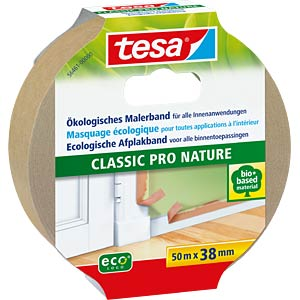 tesa® Malerband Classic Pro Nature 50 m : 38 mm TESA 56461-00000-00