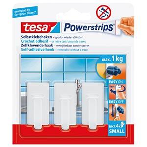 tesa® Powerstrips® Haken Classic, weiß TESA 57530-00013-00