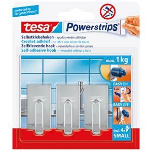 tesa® Powerstrips® Haken Classic, chrom TESA 57540-00012-00