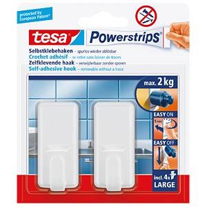 tesa® Powerstrips® classic hooks, white TESA 58010-00044-00