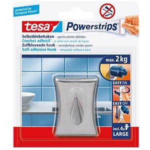 tesa® Powerstrips® Metall-Haken, konkav TESA 58120-00000-00