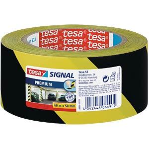 tesa® Signal Premium gelb/schwarz TESA 58130-00000-00